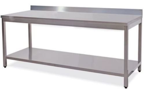 Professional Tables and work benches in stainless steel