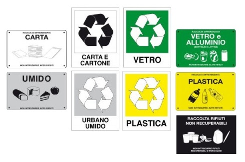 Etiquettes pour le recyclage