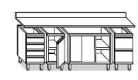 Tavoli Componibili linea LG4000
