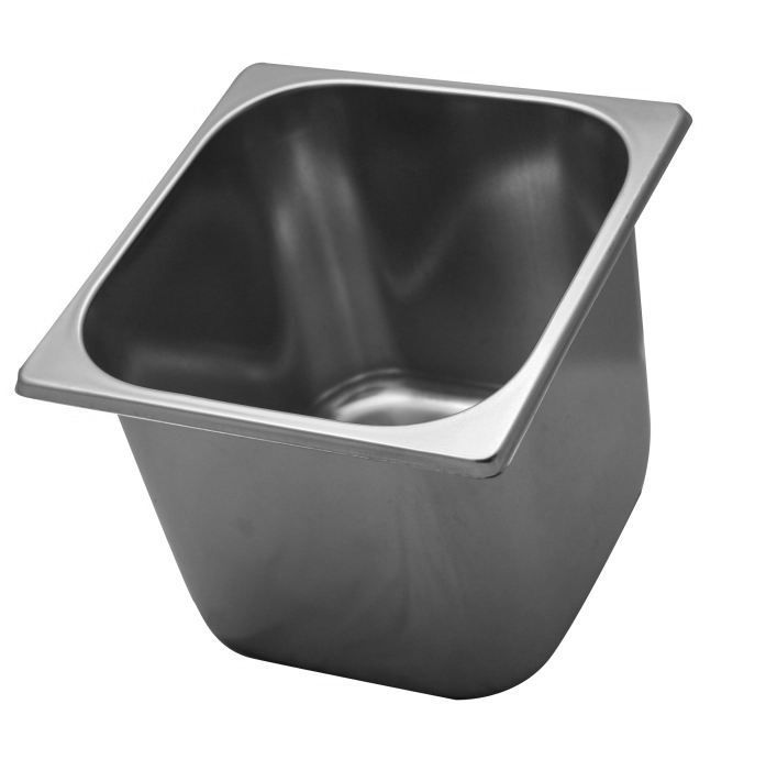 Ice cream bowl in stainless steel 2,5 l
