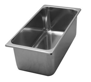 VG331612 stainless steel tubs 330x165x H120 mm