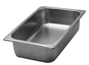 VG332512 stainless steel tubs 330x250x H120 mm