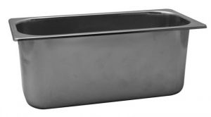 VG422020 bac à glace en acier inoxydable 420x200x h200 mm