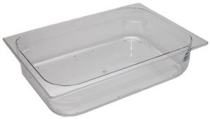 VGPT362580 polycarbonate stackable tray 360x250x80 mm