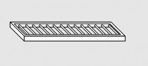 63802.20 Ripiano a parete grigliato cm 200x28x4h