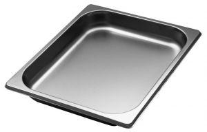 GST1/2P040  Contenitore Gastronorm 1/2 h40 mm in acciaio inox AISI 304