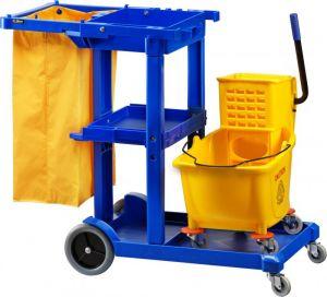 CA1606E Carrello strizzatore pulizia 2 in 1