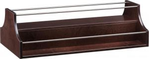 A 1280W Liqueur rack Wengé 88x46x37h