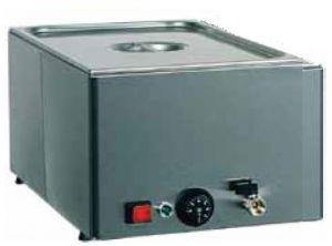 BMV11 Tavola calda banco bagnomaria inox 1x1/1GN rubinetto 54x33x22h