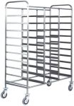 TCA 1470 Stainless steel tray trolley large capacity 30 trays
