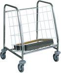 TCA 631 Carro recoleccion y distribution bandejas Capacidad 130 bandejas apiladas