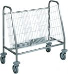 TCA 656 Dishes stacking and distribution trolley 1 basket capacity 100 dish