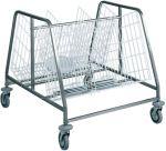 TCA 659 Dish cart 2 baskets 200 dishes