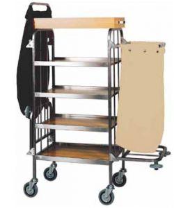 CA740 Carrello portabiancheria pulizia multiuso 4 piani