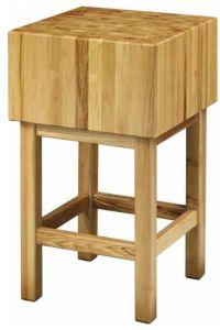 CCL3586 Bloque de madera de 35 cm con taburete 80x60x90h