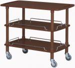 CLP2003W Carrello servizio legno wenge 3 piani 110x55x89h