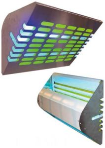 FT30 Elettroinsetticida a lampade UV-A Inox
