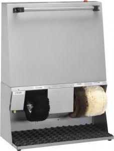 LU4120  Máquina limpiadora de calzado Blanco 62x30x83h