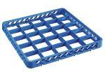 TRIA25 Elévation 25 compartiments pour panier lave-vaisselle 50x50 h4,5 bleue