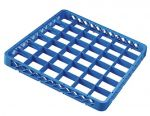 TRIA36 Elévation 36 compartiments pour panier lave-vaisselle 50x50 h4,5 bleue