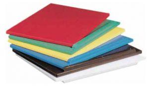 P50302 WHITE cutting board in polyethylene 50x30x2h