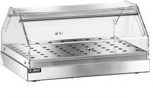 VBN 4756 Vetrinetta neutra acciaio inox 1 piano 50x35x22h