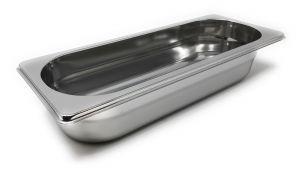 GST2/8P065 Contenitore Gastronorm 2/8 h065 in acciaio inox AISI 304