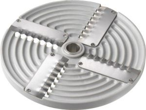 4PZ5 Disco 4 lame ondulate 5mm per Tagliamozzarella TAS