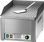 FRY1R Fry top electrico individual placa de acero enarenado rayado 3000W monofasico