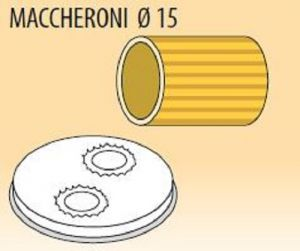 MPFTMA15-8 Trafila MACCHERONI Ø 15 per macchina per pasta fresca