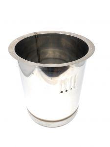 VGPZ12-AR Pozzetto in acciaio inox AISI 304 per 1 carapina ANTIROTAZIONE