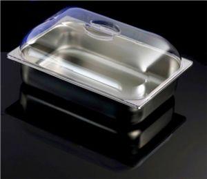 VGCV01  tapa de policarbonato transparente para bañeras dim.360x250 mm
