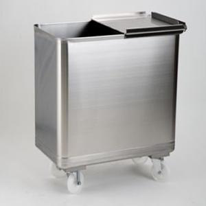MC1011 Tramoggia inox AISI 304 dim.450x600x700