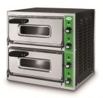 B7+7M  - Forno per Pizza INOX 2 PIZZA 50 cm  Monofase