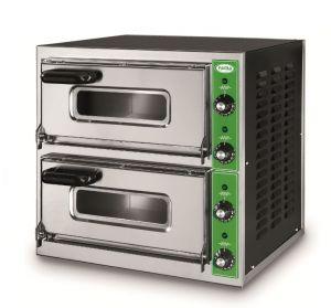 B7+7T  - Forno per Pizza INOX 2 PIZZA 50 cm  trifase