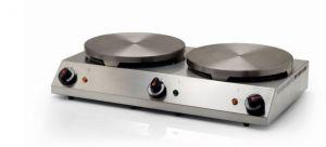 CPD - Máquina eléctrica doble para crepes.