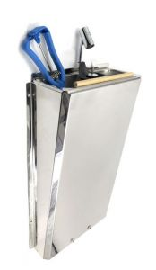 SUPERWASH-SILVER Professional long-lasting stainless steel sink mixer SHOWER