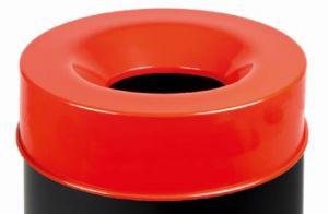 T770967 Coperchio Rosso per corpo gettacarte antifuoco 90 litri SOLO COPERCHIO