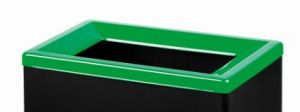 T790418 Profilo metallo Verde per gettacarte T790401