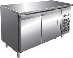 G-PA2100TN Tavolo Refrigerato Ventilato - Due Sportelli per Pasticcerie