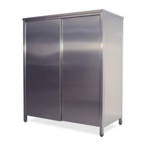 AN6001 armoire neutre en acier inoxydable avec portes coulissantes