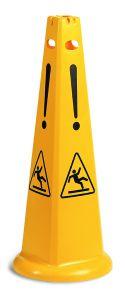 S210410 Segnale Sicurezza Piramidale - Giallo