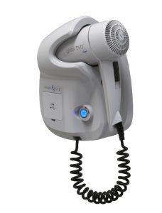 GHIBLI-W Ghibli Evo White hairdryer for hotel use Double USB socket