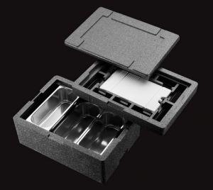 CIGE11120 Contenitore Isotermico In Polipropilene  Dimensioni 545x365x120H