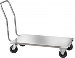 CPB1474 Stainless steel Low platform trolley