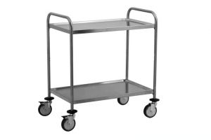 TEC1102 AISI 304 stainless steel Cart Technical 80x50x95h