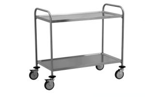 TEC1108 AISI 304 stainless steel Cart Technical Welded 100x50x95h