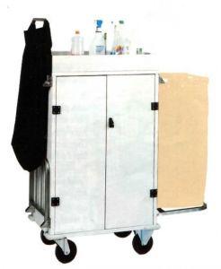 CA1530 Chariot armoire à linge nettoyage à usages multiples