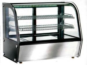 VPH100 Vitrine chauffante à poser ventilée 71x46x67h