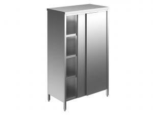 EU04308-12 armadio verticale ECO cm 120x70x180h porte scorrevoli - 3 ripiani regolabili